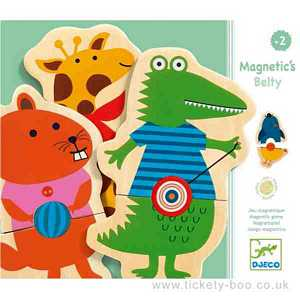Belty Animal Magnets by Djeco