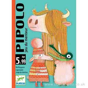 Pipolo Card Game by Djeco