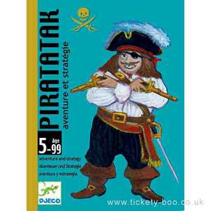 Piratatak Card Game by Djeco