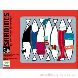 Sardines Card Game by Djeco