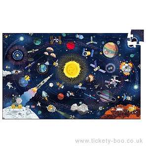200 pcs Space Observation Puzzle by Djeco
