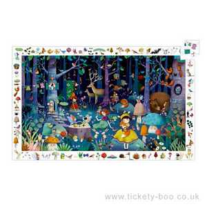 100 pcs Enchanted Forest Observation Puzzle by Djeco
