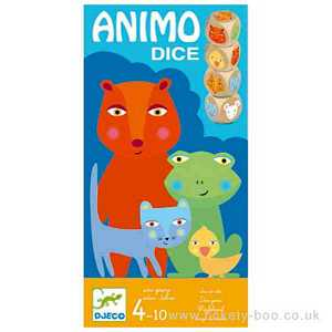 Animo Dice Game by Djeco