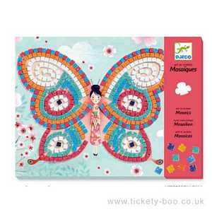 Butterflies Mosaics by Djeco