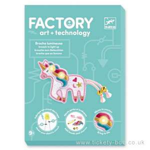 Sweet Unicorn Brooch Factory E-textil by Djeco